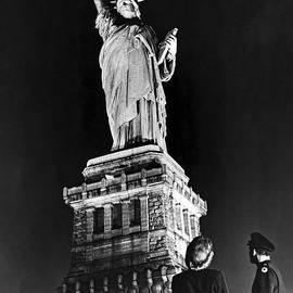 Statue Of Liberty On V E Day - American School