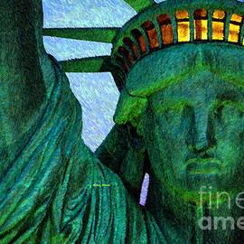 Statue Of Liberty by Rafael Salazar