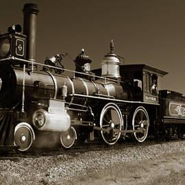Tim Jensen - Steam Engine 119 - Sepia
