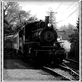Steam Locomotive at Arcade and Attica Railroad by Rose Santuci-Sofranko
