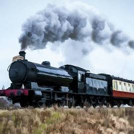 Steam Locomotive To Virginia City  by David Dehner