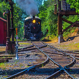 Steam Train Coming Down The Tracks - Garry Gay