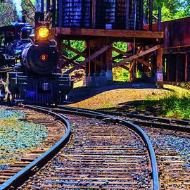 Steam Train No 3 On The rails - Garry Gay