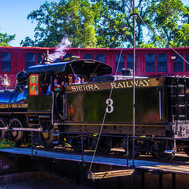 Garry Gay - Steam Train No 3 On The Turntable