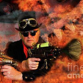 Bob Christopher - Steampunk Bob Burning Man
