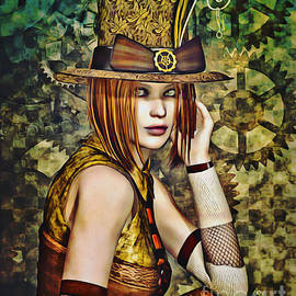 Steampunk Girl Two by Alicia Hollinger