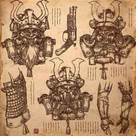 James Ng - Steampunk Samurai Concept