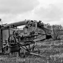 Steampunk Thresher Monochrome by Alana Thrower