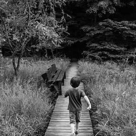 Daniel Dempster - Stepping Into Adventure - D009927-bw