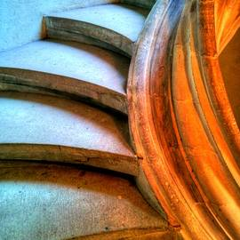 Steps To An Organ Loft by Jenny Setchell