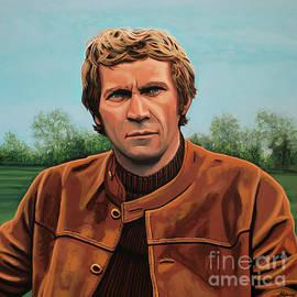 Paul Meijering - Steve McQueen Painting
