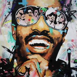 Richard Day - Stevie Wonder Portrait