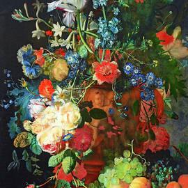 Michael Durst - Still Life after van Huysum by Dr. G.M. Durst