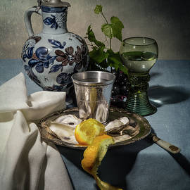 Levin Rodriguez - Still Life Blue and Lemmon