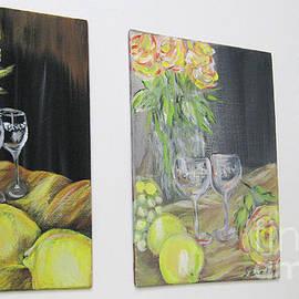 Oksana Semenchenko - Still Life. Flowers and Fruits 2017