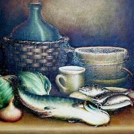 Still life in Dutch style by Vsevolod Poliohin