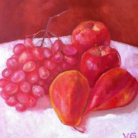 Still life in red  by Victoria Galtsova