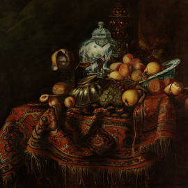 Michael Durst - Still Life of Fruits and Opulent Objects