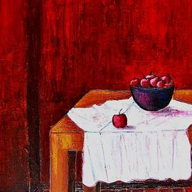 Dimitra Papageorgiou - Still Life Table With Fruits