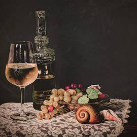 Jerri Moon Cantone - Still Life White Wine