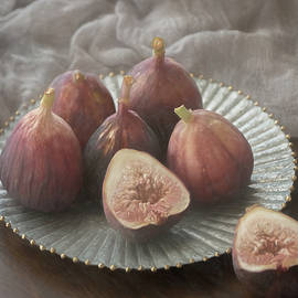 Still Life With Figs 0160 by Teresa Wilson