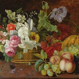 Adele Evrard - STILL LIFE WITH FLOWERS