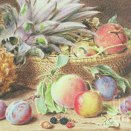 Still Life with fruit - William Henry Hunt
