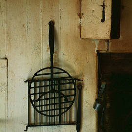 RC deWinter - Still Life with Hearth Tools