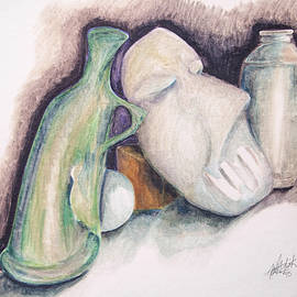 Still Life With Mask by Keith A Link