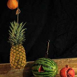 Still Life With Melon by Joe Pratt