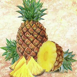 Irina Sztukowski - Still Life With Pineapple