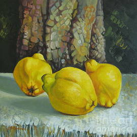 Elena Oleniuc - Still life with quinces