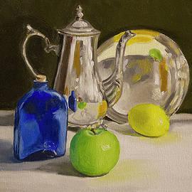 Debbie Davidsohn - Still Life with Silver