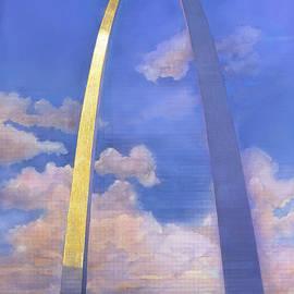 St.louis Gateway Arch by John Dyess