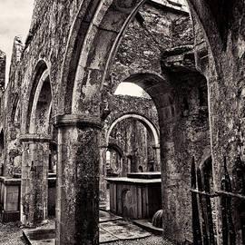 Menega Sabidussi - Stone Arches of Ross Errilly Friary Ruins