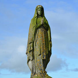 DejaVu Designs - Stone Statue of Mary