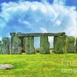 Sarah Kirk - Stonehenge by Sarah Kirk