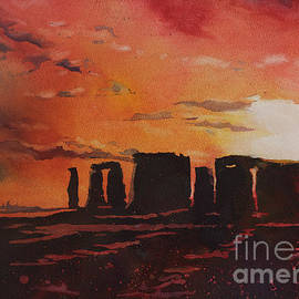 Ryan Fox - Stonehenge Sunset