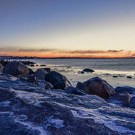 Kirkodd Photography Of New England - Stonington Point Blue Hour