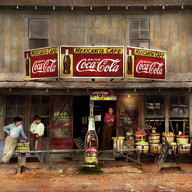 Store - Grocery - Mexicanita Cafe 1939 by Mike Savad