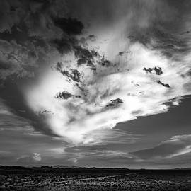 Storm Clouds in Black and White by David Stevens