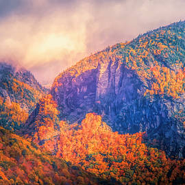 Dan Sproul - Storm Clouds Over Crawford Notch In Autumn