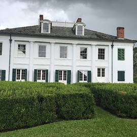 Gloria Diallo - Storm Clouds Over the Main House at Evergreen Plantation