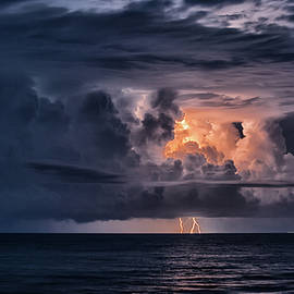 Storm Over the Atlantic by Ray Silva