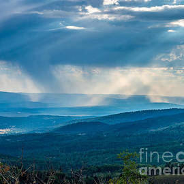 Storm Over the Carson National Forest by Stephen Whalen
