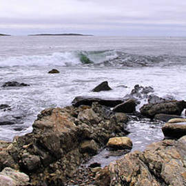 Sandra Huston - Storm Tossed Atlantic Panorama