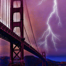 Tommy Anderson - Stormy Golden Gate Bridge