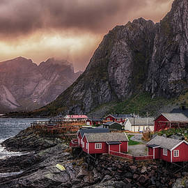 Stormy Hamnoy by James Billings