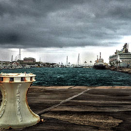 Bill Swartwout Fine Art Photography - Stormy Harbor Kings Wharf Bermuda