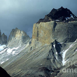 Stormy Light Over Los Cuernos Del Paine  by James Brunker